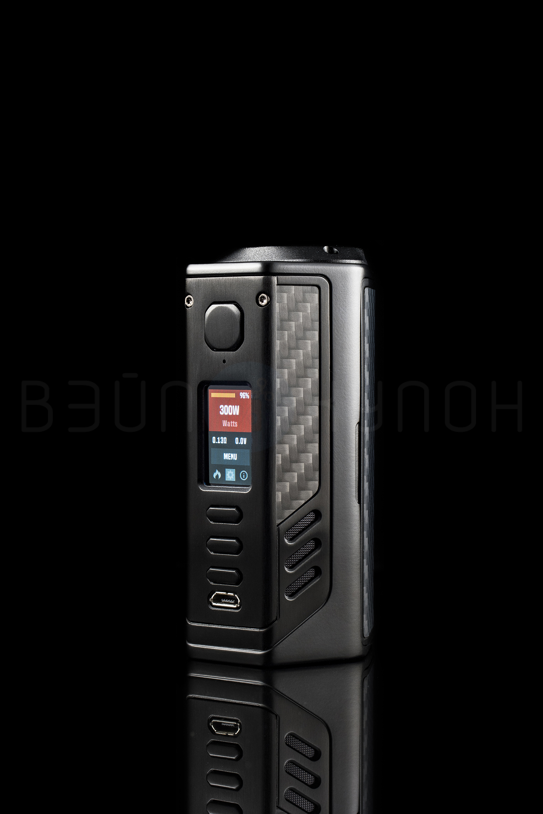 Lost Vape Triade DNA250C дисплей